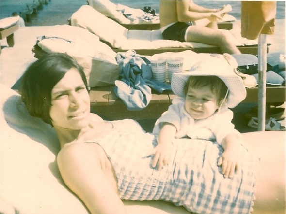 Me with My Mom. Miami 1965