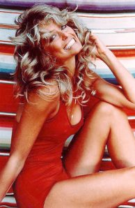 When I think of Farrah Fawcett, this is the picture my mind conjures.
