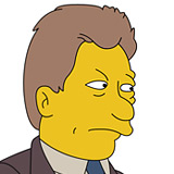 bill clinton simpsons