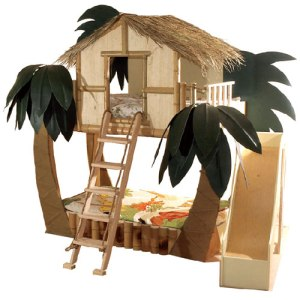 Tropical Surf Shack Bunk Bed - $16,000