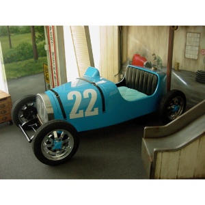Vintage Race Car Bed - $20,160